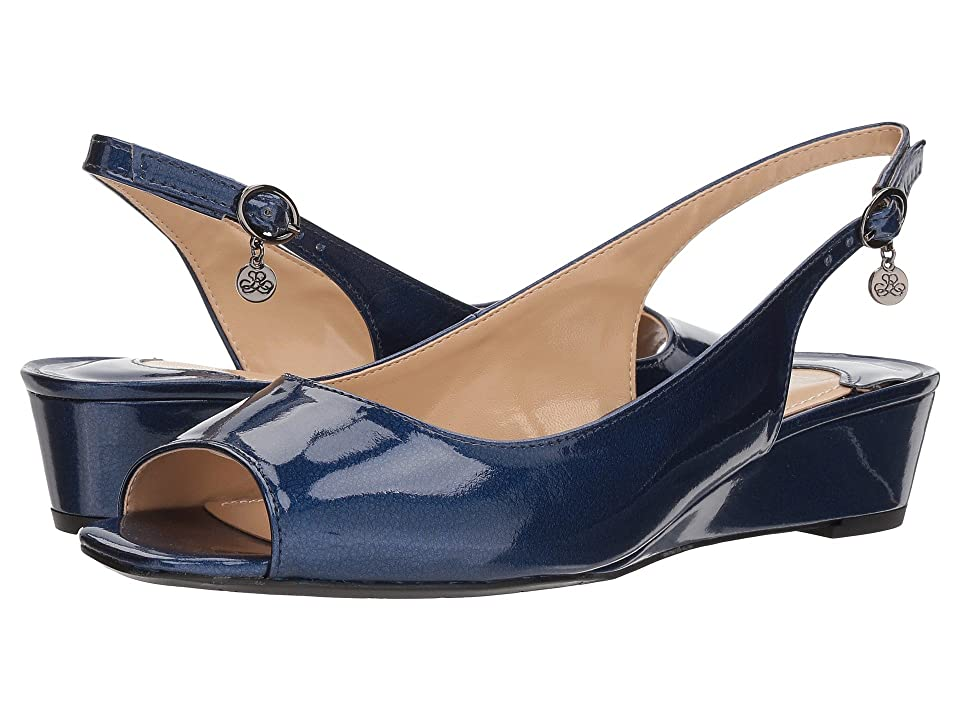 J. Renee Alivia (Navy Metallic) High Heels