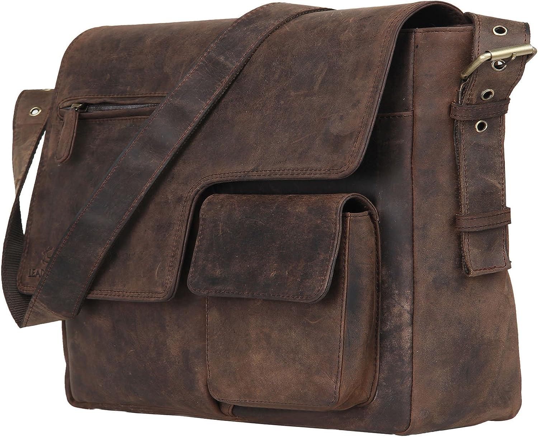 Leather online Soldering shopping Vintage Rustic Crossbody Messenger Satchel Courier G Bag