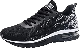 Impdoo Mens Air Athletic Running Sneaker Cute Fitness Sport Gym Jogging Tennis Shoes(US7-12.5 D(M)