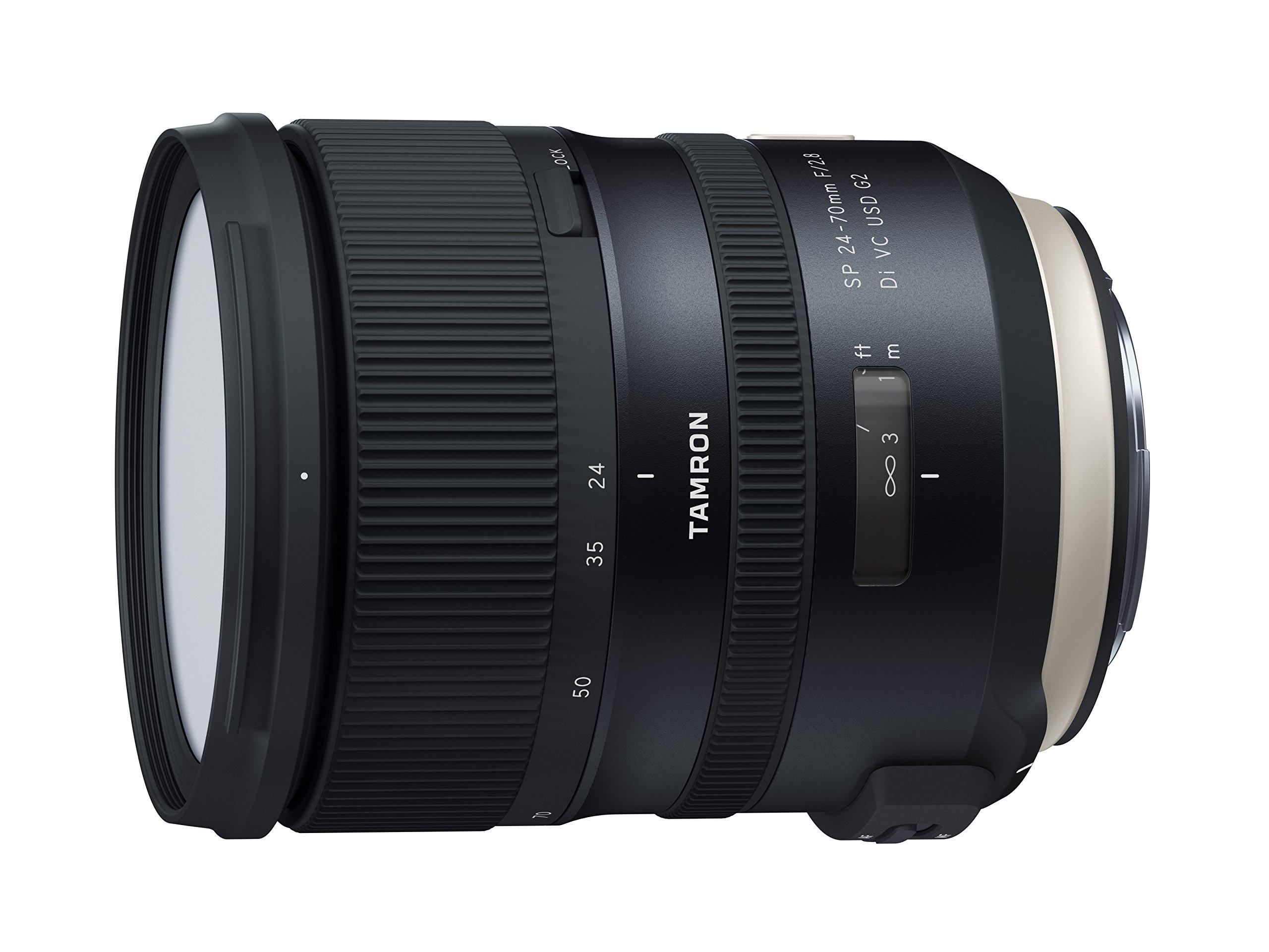 Tamron T81065 - Objetivo para cámara Canon (SP 24-70mm, Apertura F ...