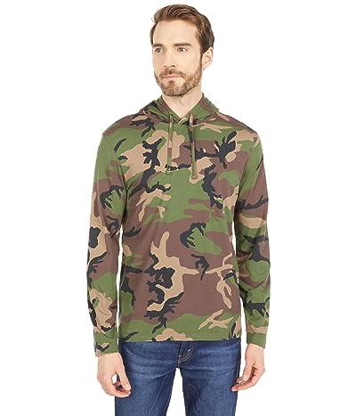 Polo Ralph Lauren Camo Jersey Hooded T-Shirt (Surplus Camo) Men