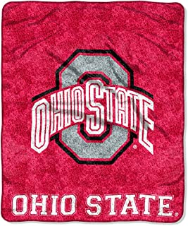 The Northwest Company Officially Licensed NCAA Ohio State Buckeyes Jersey Sherpa on Sherpa Throw Blanket, 50