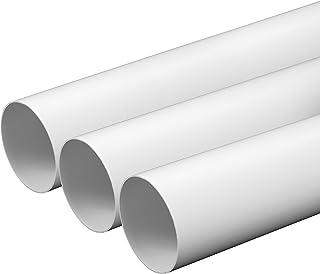 Tubo de ventilación de 150 mm de diámetro, 0,5 m de largo
