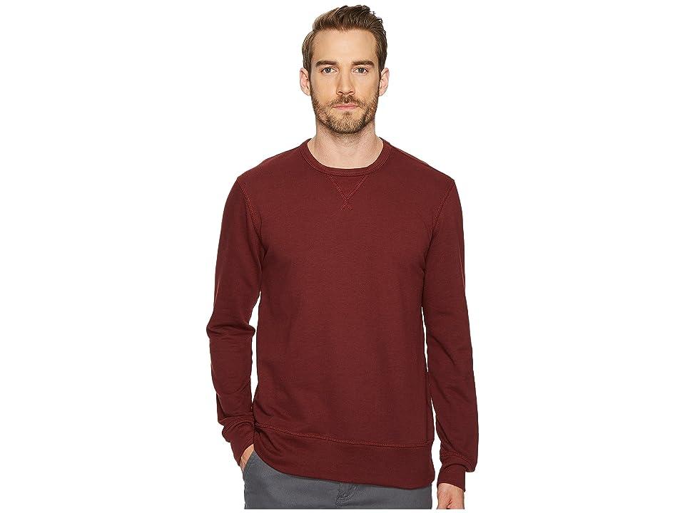 Image of Alternative B-Side Reversible Crew Neck (Maroon) Men's T Shirt