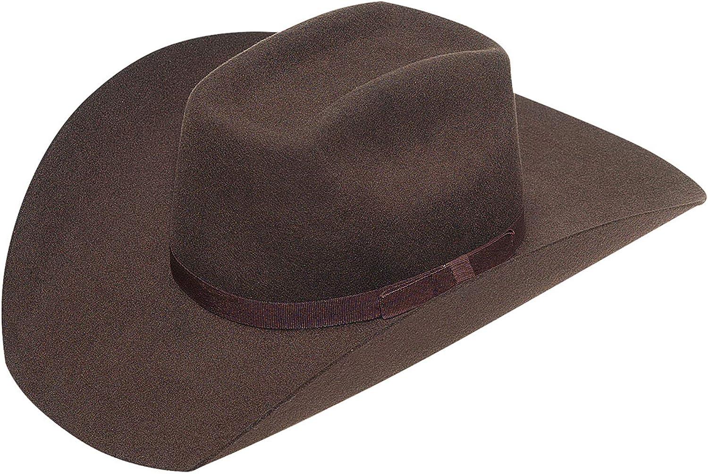 M&F Western Twister Wool Cowboy Hat w/Flat Bow (Little Kids/Big Kids)