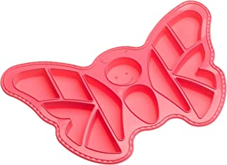 "Roshco""Create and Celebrate"" Butterfly Pull-Apart Cupcake Silicone Baking Pan"