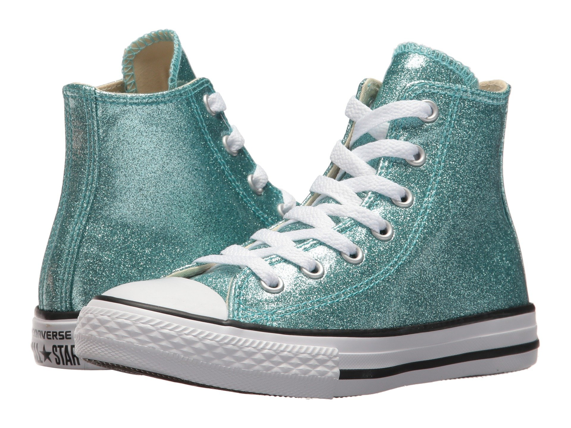 Converse kids girls shipped free at zappos view more like this converse kids chuck taylor all star hi little kidbig kid geenschuldenfo Choice Image