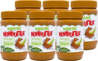 Peanut Free Tree Nut Free Natural No Stir Spread – WOWBUTTER – Award Winning Vegan Plant Protein Food made with Non-GMO ve...
