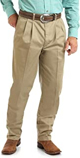 Wrangler Mens Riata Pleated Relaxed Fit Casual Pant Pants