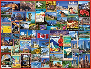 White Mountain Puzzles Best Places in Canada - 1000 Piece Jigsaw Puzzle