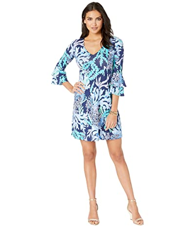 Lilly Pulitzer Raina Dress (Deep Indigo Swish and Sway) Women