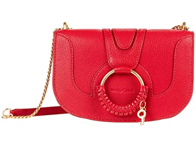 See by Chloe Hana Shoulder Bag (Red Flame) Handbags