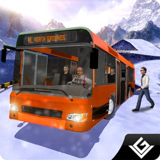 Offroad Snow Tourist Winter  Bus Driving Adventure: Transport Passengers In Hill Areas Simulator Game Free For Kids