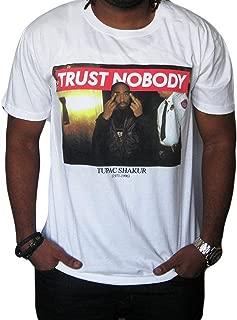 Tupac Shakur Trust Nobody Mens Graphic Shirt