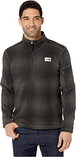 Asphalt Grey Ombre Plaid Small Print