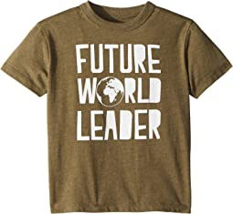 Chaser Kids - Extra Soft Vintage Jersey Future World Leader Short Sleeve Tee (Toddler/Little Kids)