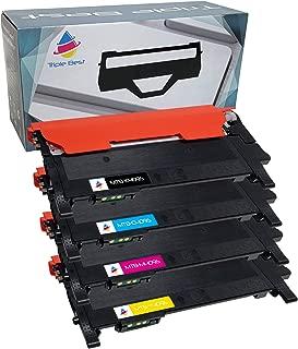 MyTripleBest® Set of 4 CLT-K409S CLT-C409S CLT-M409S CLT-Y409S Compatible Laser Toner Cartridges for Samsung CLP-310 CLP-310N CLP-315 CLP-315W CLX-3170 CLX-3175 CLX-3175FN CLX-3175FW CLX-3175N