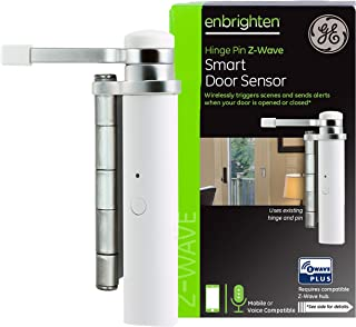 GE Enbrighten Z-Wave Plus Smart Door Sensor, Left or...
