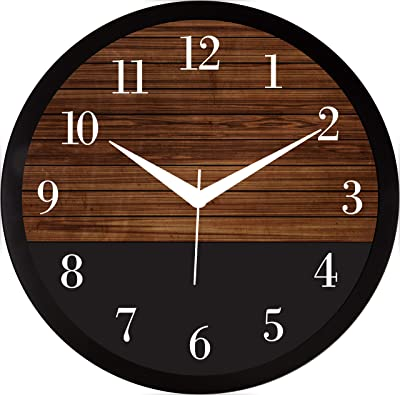 RAG28 11.75 Inches Designer Wall Clock for Home/Living Room/Bedroom/Kitchen (9217)