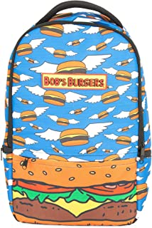 Bob's Burgers Flying Hamburger Laptop Backpack, For Machines up to 16in