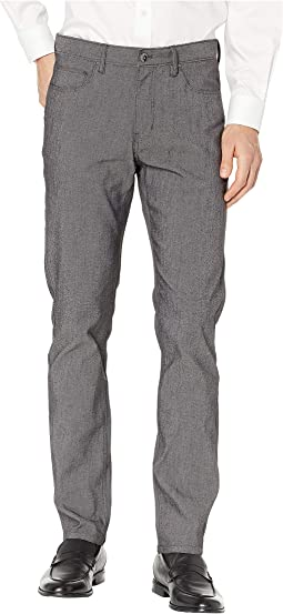 Slim Fit Stretch Slub Twill Five-Pocket Pants