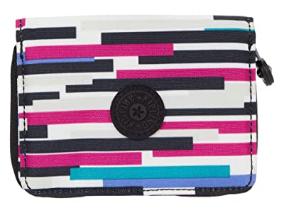 Kipling Money Love RFID Wallet (Urban Stripe) Handbags