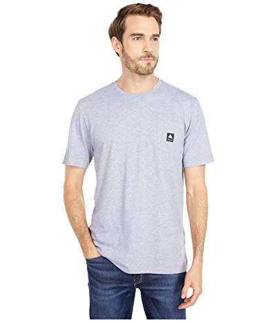 Burton Colfax Short Sleeve T-Shirt (Gray Heather) Clothing
