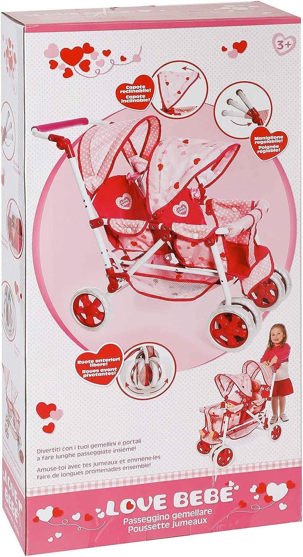 ventas en línea de venta Juegos valiosos RDF50340 amor bebe '- '- '- cochecito doble  la calidad primero los consumidores primero