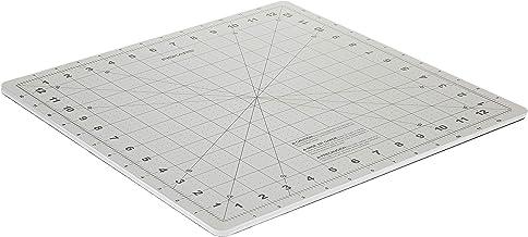Fiskars 100590-1003 - 14x14 Inch Self Healing Rotating Cutting Mat, Biege