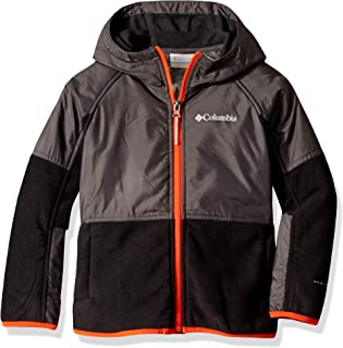 Youth Basin Butte Fleece Full Zip, Breathable, Classic Fit