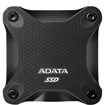 ADATA Entry Series SD600Q: 240GB Black External SSD USB 3.1 Gaming Console Compatible