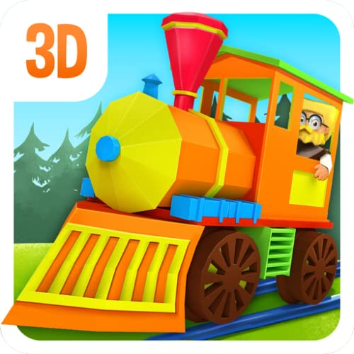 3D Spielzeugeisenbahn - gratis Kinder Spiel Zug
