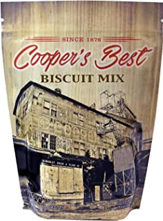 Cooper's Best: Biscuit Mix (2.5 LB Bag) - Based On Original 1876 Recipe - An Old Favorite Perfect for Any Time - Premium Milled Flour - Made in the USA - 28 Servings