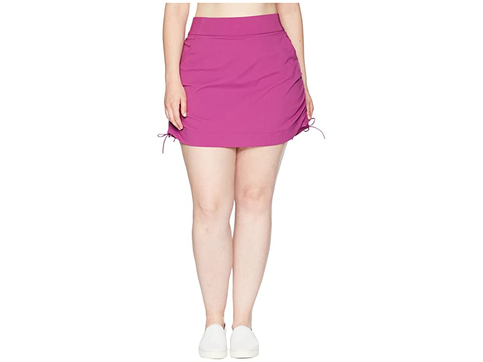 Columbia Plus Size Anytime Casualtm Skort (Intense Violet) Women