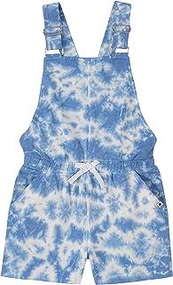 Lucky Brand Girls' Tie Dye Overalls