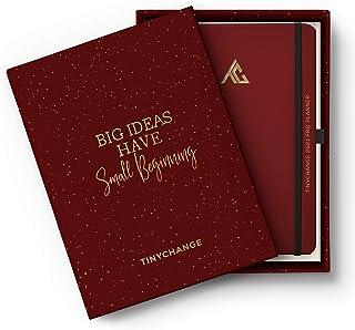TINYCHANGE 2021 Pro Planner Diary Box; Daily Weekly Organizer Notebook Habit Tracker and Gratitude Journal; 18x24cm Hard C...