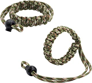 Camera Wrist Strap,Nylon Braided 550 Adjustable Camera Hand Grip Strap for Video Camcorder, Binoculars and Cameras - 2 Pac...