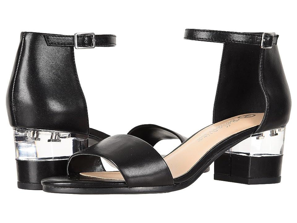 Bella-Vita Fitz (Black Leather) Women