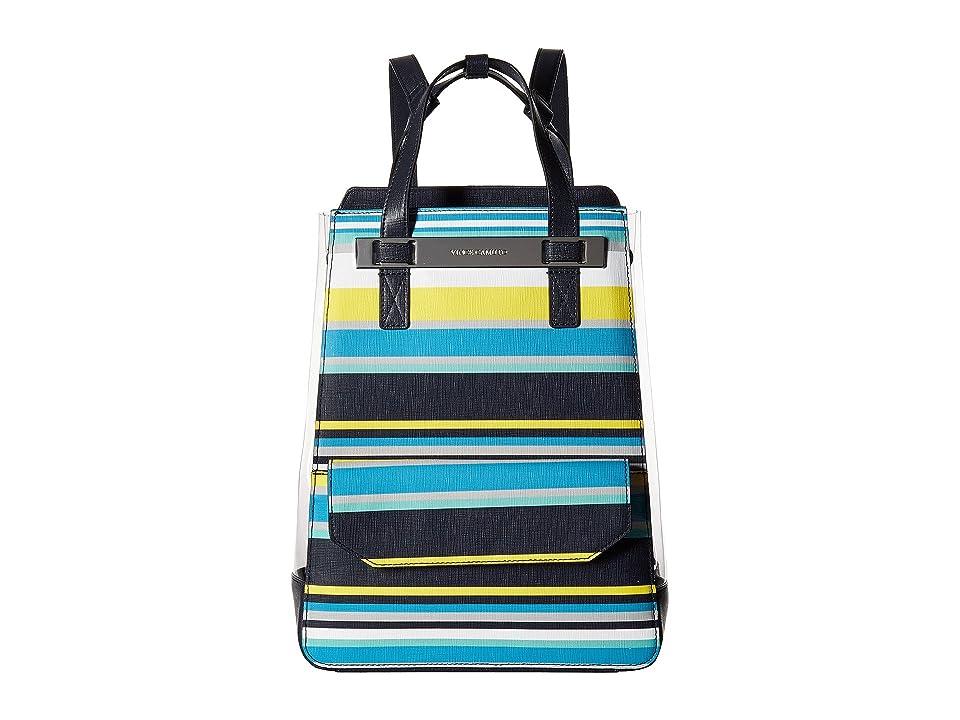 Vince Camuto Boadi Backpack (Blue Combo) Backpack Bags
