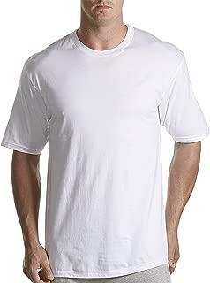 Harbor Bay by DXL Big and Tall 3-pk Crewneck T-Shirts, White