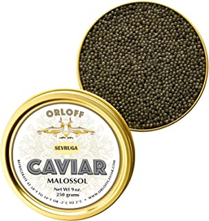 ORLOFF Sevruga Sturgeon Caviar - 3.5 Ounce – Freshness GUARANTEED Overnight Delivery