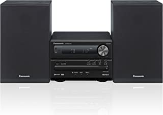 Panasonic SC-PM250 Microcadena (Home Audio Micro System, 1 Disco, de 1 vía, 6 Ω), Negro, 20W