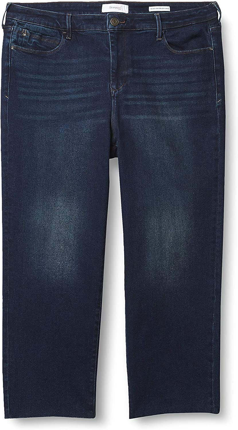 Skinnygirl Women's Warren High Straight Ankle Detroit Mall Sale special price Rise