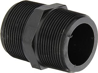 Banjo NIP150-SH Polypropylene Pipe Fitting, Short Nipple, Schedule 80, 1-1/2