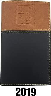BookFactory 2019 Weekly Pocket Calendar /2019 Calendar /2019 Weekly Calendar/Weekly Planner Organizer - Calendar with Notepad (CAL-2019-POCKET(Organizer))