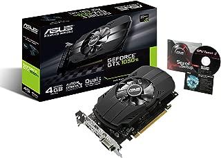 ASUS  NVIDIA GeForce GTX1050TI搭載ビデオカード オーバークロック メモリ4GB PH-GTX1050TI-4G