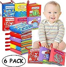 Libros Blandos para Bebé, Libro de Tela Bebé Apr