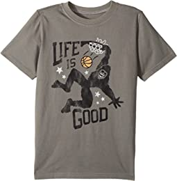 Life is Good Kids - Monster Dunk Crusher Tee (Little Kids/Big Kids)