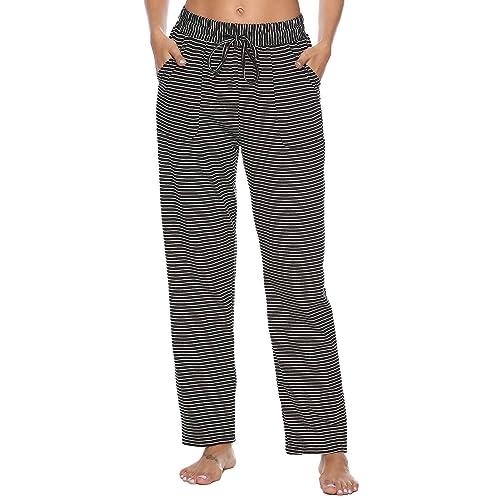 Womens Flannel Pajama Pants  Amazon.co.uk 5ac390ccf