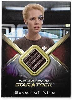 2017 The Women of Star Trek 50th Anniversary WCC27 Jeri Ryan as Seven of Nine Costume Card